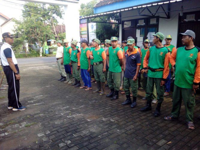 Pesiapan PILEG dan PILPRES 2019, Kelurahan Tawangrejo Adakan Pembinaan LINMAS