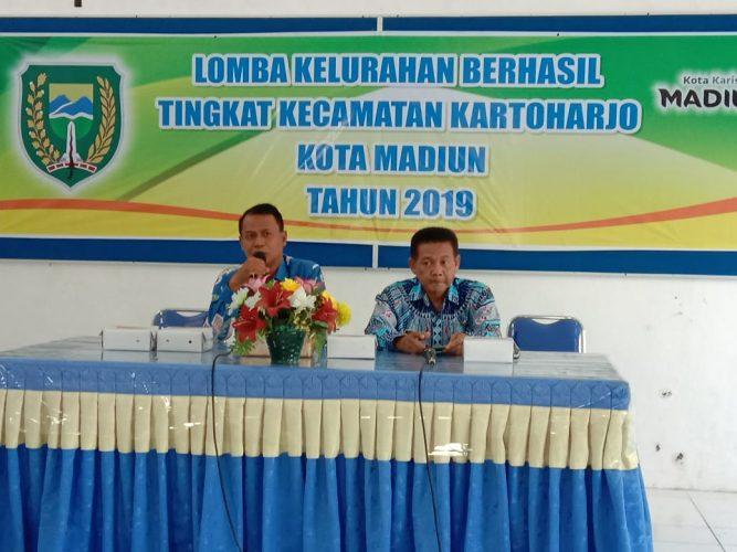 Kelurahan Tawangrejo meraih Juara 3 Lomba Kelurahan Se Kecamatan Kartoharjo